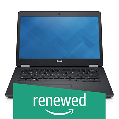 (Renewed) Dell Latitude E5470 14-inch Laptop (Core I5 6th Gen/8GB/256 GB SDD/Windows 10/MS Office Pro 2019/Integrated Graphics), Black