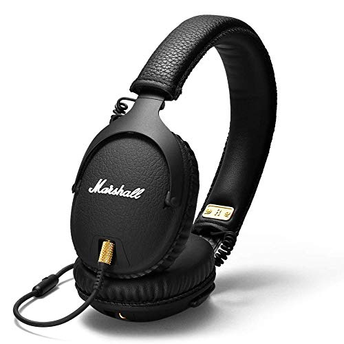Marshall Monitor Audífonos Over Ear Wired, Color Negro