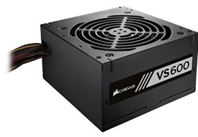 Corsair CP-9020119-NA VS Series, VS600, 600 Watt (600W), Active PFC, 80 PLUS White Certified Power Supply