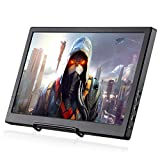 KALESMART 15.6 Inch HDR PC Monitor with Double HDMI 1920x1080 IPS Display Portable Gaming Monitor Thin with Audio Output, USB Powered for PS4 Raspberry Pi WiiU Xbox 360 Raspberry Pi Windouw 7 8 10