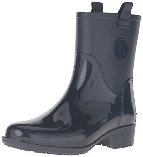 Tommy Hilfiger Women's Khristie Rain Boot Marine 6 M US