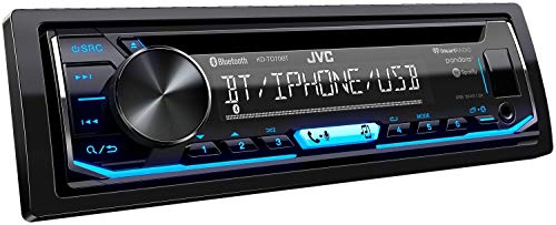 JVC KD-TD70BT CD Receiver Featuring Bluetooth/USB/Pandora/iHeartRadio/Spotify/FLAC / 13-Band EQ