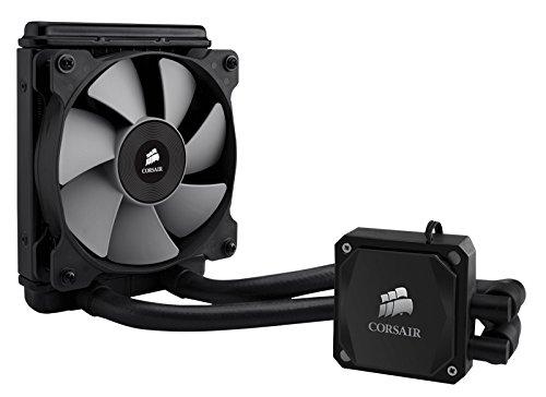 Corsair Hydro Series H60 2013 Extreme Performance - Sistema de refrigeración líquida para CPU de alto rendimiento (120 mm, blanco LED) (CW-9060007-WW)