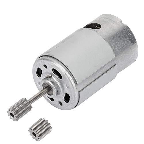 Micro motor de alta velocidad RS550 de 6V