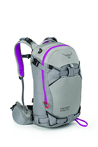 Osprey Packs Women's Kresta 30 Ski Pack, Twilight Grey, X-Small/Small