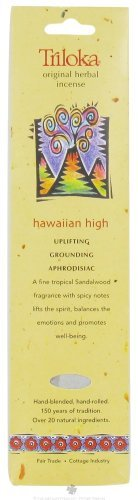 Triloka - Original Herbal Incense Hawaiian High - 10 Stick(s)
