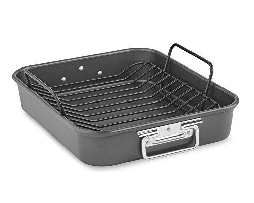 KitchenAid KitchenAid KBNSO16RP 16' Aluminized Steel Roaster with Rack - Nonstick