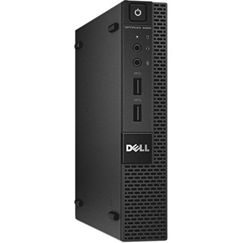 Fast Dell Optiplex 3020 Micro Desktop Computer Ultra Small Tiny PC (Intel Quad Core i5-4590T, 8GB Ram, 500GB HDD, WiFi, HDMI) Windows 10 Pro Comes with CD (Renewed)