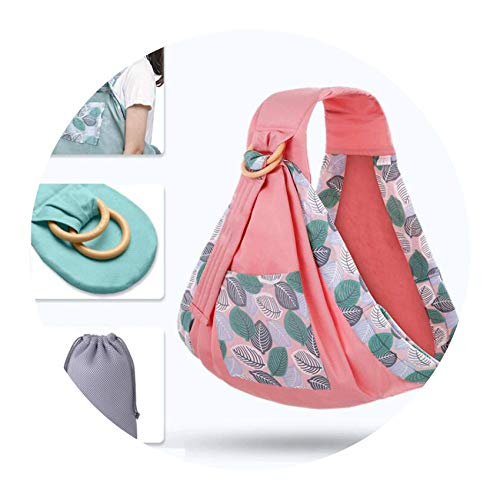 Baby Wrap Ring Sling Carrier Backpack Nursing Cover Soft Natural Wrap Breathable Cotton Kangaroo Bag