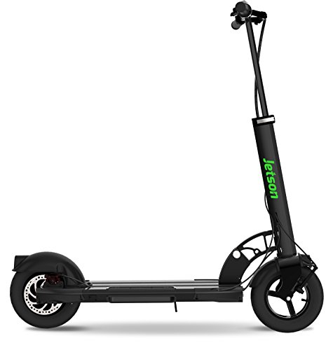 Jetson Breeze Premium Folding Electric Scooter with LED Headlight and LCD Display, Inflatable Tires for Ultra-Smooth Ride, for Adults & Teens