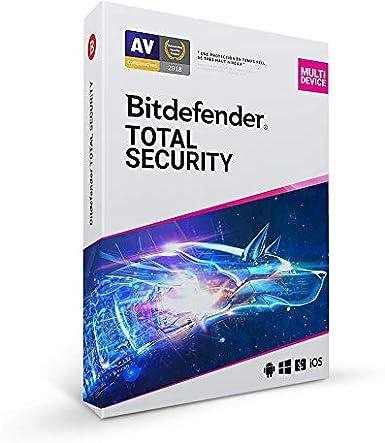 Bitdefender Total Security 2020 | 10 appareils | 2 ans | PC/MAC/android | Téléchargement