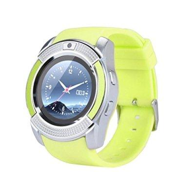 samLIKE 丨 Smart Watch 丨 telefono Mate 丨 Contapassi 丨 con SIM Card Slot 丨 Remote, Fotocamera 丨 sonno REKORD 丨 【 Design Per Sport tua passione ⭐ ️ 】, ❤️ Grün