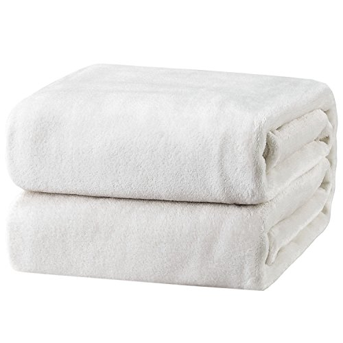 Bedsure Flannel Fleece Luxury Throw Blanket Lightweight Cozy Plush Microfiber