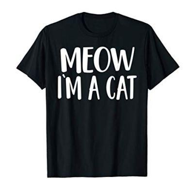 Meow I'm A Cat T-Shirt – Halloween