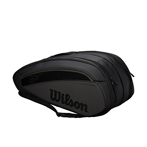 Wilson Federer DNA 12 Pack - Black