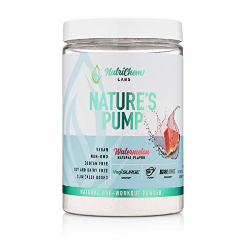 Nature's Pump Pre Workout