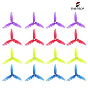16pcs DALPROP T5046C 5 Inch 3-Blades Propellers for 200 210 230 250 FPV Racing Drone Quadcopter Frame Kit and 2205-2207 brushless Motor 41J9fhEx2cL