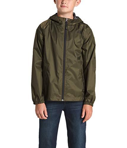The North Face Kids Boy's Zipline Rain Jacket (Little Kids/Big Kids) New Taupe Green X-Small