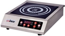 "Winware by Winco EIC-400 Commercial Electric Induction Cooker 11"" x 11"""