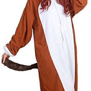 Xiqupjs Adult Onesie Animal Pajamas Cosplay Costume One Piece Sleepwear