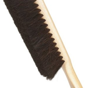 Weiler 71019 Horsehair Counter Duster with Wood Handle, Wood Block, 2-1/2″ Head Width, 8″ Overall Length, Natural