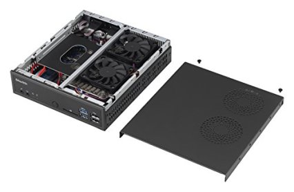 Shuttle-XPC-Slim-DQ170-Mini-Barebone-PC-Intel-Q170-LGA-1151-KabylakeSkylake-Heatpipe-Cooling-Module-No-CPU-No-Ram-No-HDD-No-OS
