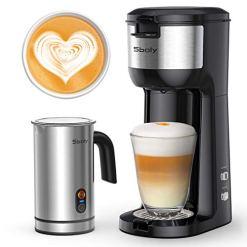 Sboly Coffee Maker Cappuccino Machine and Latte Maker
