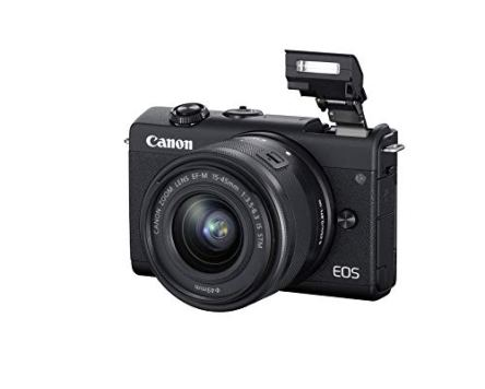 Canon-EOS-M200-Compact-Mirrorless-Digital-Vlogging-Camera-with-EF-M-15-45mm-Lens-Vertical-4K-Video-Support-30-inch-Touch-Panel-LCD-Built-in-Wi-Fi-and-Bluetooth-Technology-Black