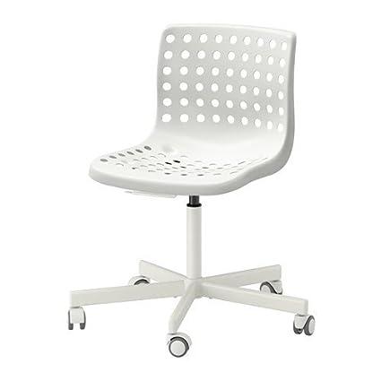 Ikea Sklberg Sporren Swivel Chair 14202 81120 610 White Amazon In Home Kitchen