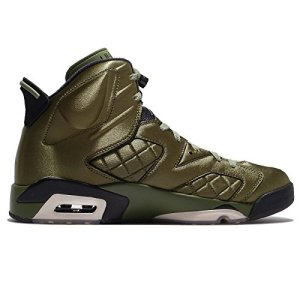 1b5f6e75107 Buy Cheap Nike Air Jordan VI 6 Pinnacle Promo Flight Jacket Olive ...
