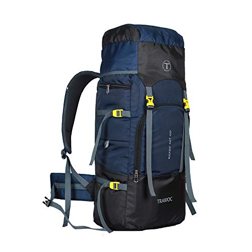41JcBaI7D3L - TRAWOC Trekking/Hiking Backpack 55 LTR Rucksack
