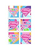 Hallmark Super Girl Power Stickers (4 Sheets)