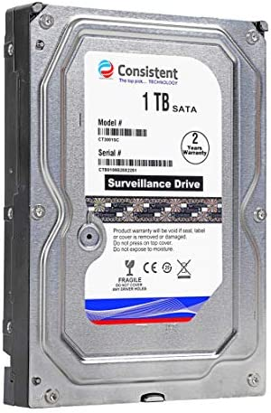 Consistent 1 TB Hard Disk for Desktop