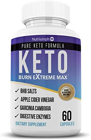 Keto Burn Extreme Max Fat Burner Diet Pills- Ketogenic Weight Loss for Women and Men- Ketosis Supplement with BHB Salts & Apple Cider Vinegar- 30 Day Supply 3