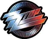 ZZ Top blues rock vynil car sticker 4' x 4'