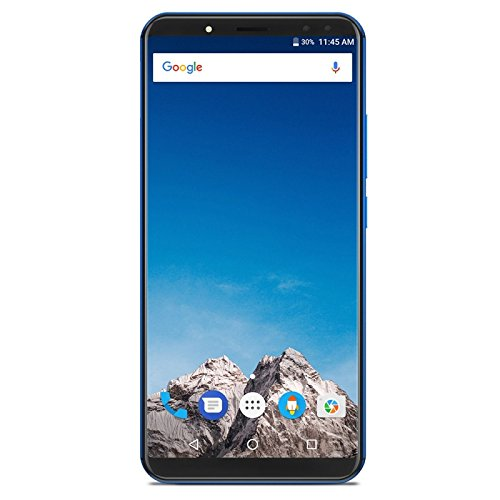 Generic Vernee X, 4GB+64GB, Dual Back Cameras + Dual Front Cameras, 6200mAh Battery, Face & Fingerprint Identification, 6.0 inch Android 7.1 MTK6763 Octa Core up to 2.0GHz, Network: 4G, OTG(Blue)