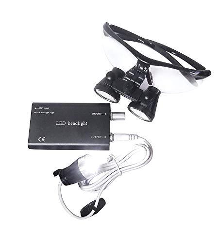 Bestlife three.5x420mm DentaL Medical Binocular Loupes with Head mild Lamp (Black), deal 50% off 41JlSMYshsL