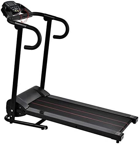 Murtisol 1100W Folding Treadmill Good for Home/Apartment Fitness Compact Electric Running Exercise Machine with Safe Handlebar 1