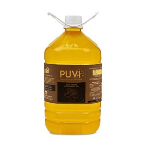 Puvi Cold Pressed Groundnut/Peanut Oil in 5 Ltr India
