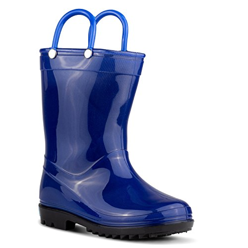 ZOOGS Children's Rain Boots with Handles, Little...