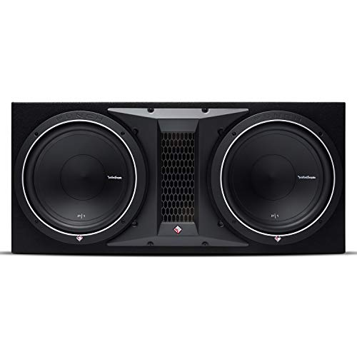 """Rockford Fosgate Punch P1-2X12 Dual P1 12"""" Loaded Subwoofer Enclosure Ported"""