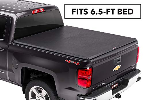 TruXedo TruXport Soft Roll Up Truck Bed Tonneau Cover|271101| fits 2007 - 2013 GMC Sierra/Chevy Silverdo 1500, 2014 2500/3500, 6.6' Bed