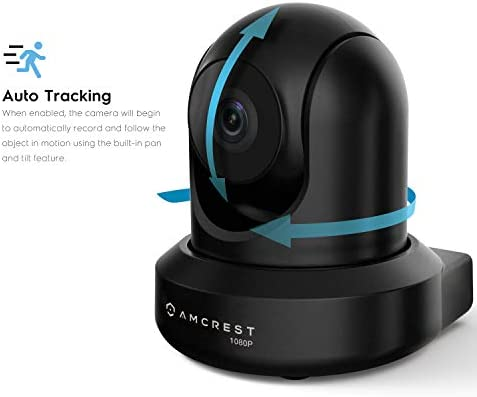Amcrest ProHD 1080P WiFi Camera 2MP (1920TVL) Indoor Pan/Tilt Security Wireless IP Camera IP2M-841B (Black) 14