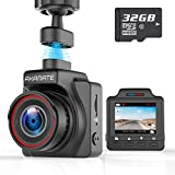AKAMATE AMA000C1L Dash Cam, Magnetic Dashboard Recording Camera 1.5' Mini Dvr Car Full HD 1080P, 145° Wide Angle