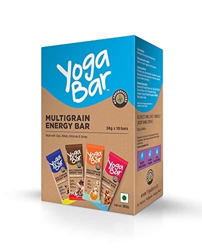 Yogabars Multigrain Energy Bars Variety Box - 38gm x 10 Bars 1  Yogabars Multigrain Energy Bars Variety Box – 38gm x 10 Bars 41Jz5dqmuNL