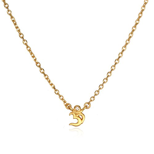 41K GIN4UQL Items containing natural stones may have slight variances in size, shape and color Open your heart and listen to the Universe. This mini Om necklace makes a powerful statement inviting you to trust the voice within. Designed for your journey, this style has healing, empowering semi-precious gemstones and symbols.