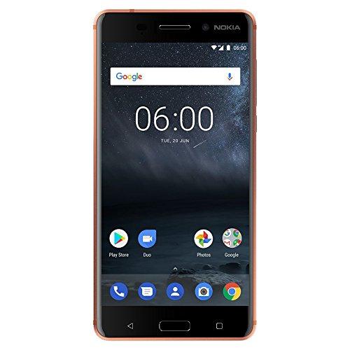 Nokia 6 - Android 9.0 Pie - 32 GB - 16MP Camera - Dual SIM Unlocked Smartphone (AT&T/T-Mobile/MetroPCS/Cricket/H2O) - 5.5' FHD Screen - Copper - U.S. Warranty