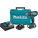 Makita XFD10R 18V Compact Lithium-Ion Cordless 1/2' Driver-Drill Kit
