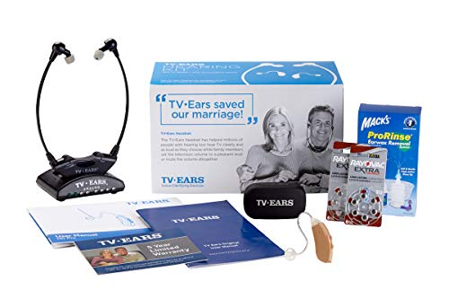TV Ears Grab-n-Go V2 Hearing Aid Kit for The Right Ear