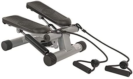 Sunny Health & Fitness Mini Stepper with Resistance Bands 4
